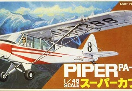 Piper PA-18-135 Bandai 8521-300 48th