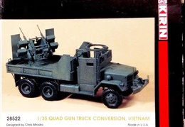 M35A1 Quad 50 conversion Kirin 28522 35th