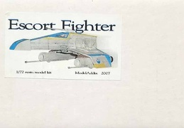 E-Wing Escort Fighter Model Addix 72nd
